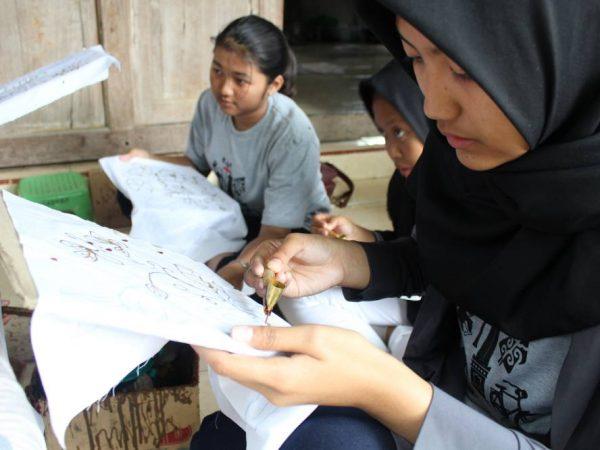 Studi Lapangan Batik Komar (yogyakarta) 2017