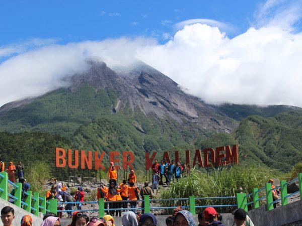 Kunjungan Ke Bunker Kaliadem (Merapi) 2018