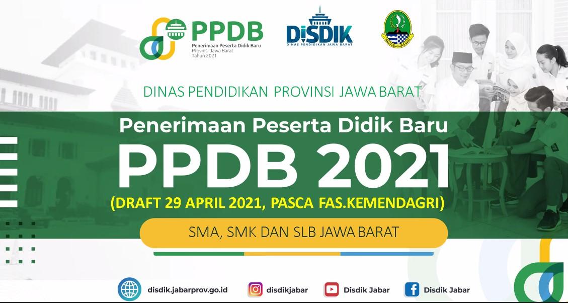 Petunjuk Teknis PPDB Jabar 2021 SMA, SMK, SLB (PDF)